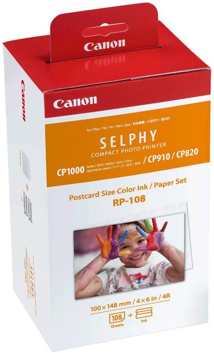 Canon papír RP-108 + ink (108ks/148 x 100mm)