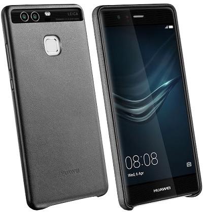 Huawei Original Protective pouzdro kožené pro P9, černá