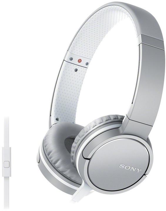 Sony MDR-ZX660AP, bílá