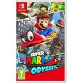 Nintendo Switch, červená/modrá + Splatoon 2 + Super Mario Odyssey
