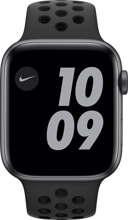 Apple Watch Nike Series 6, 44mm, Space Gray, Anthracite/Black Nike Sport Band