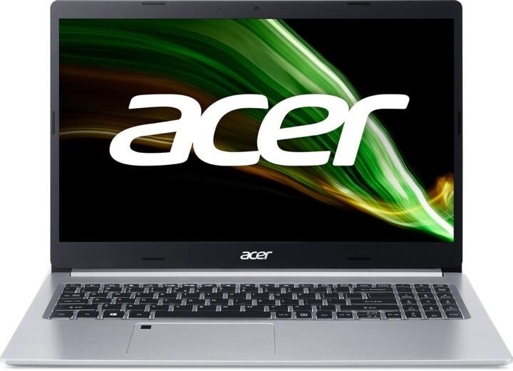 Acer Aspire 5 (A515-45G), stříbrná