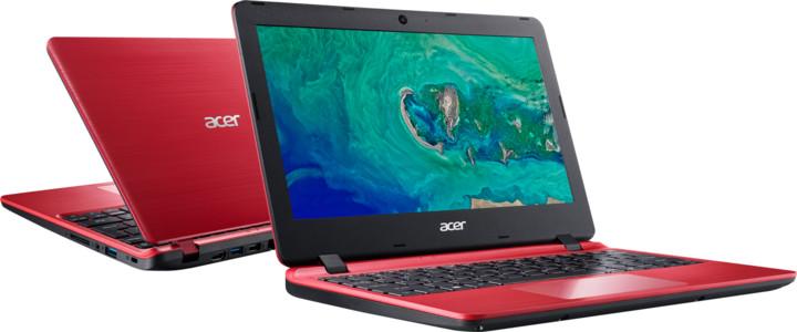Acer Aspire 1 (A111-31-C82A), červená + Office 365 Personal