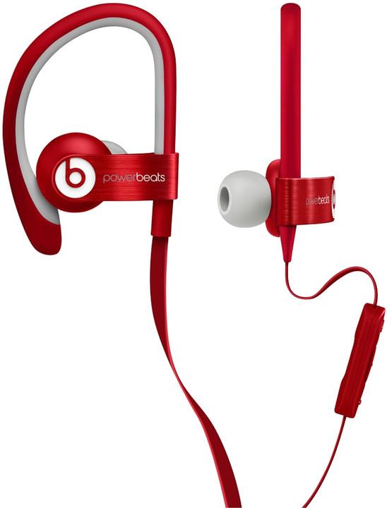 Beats Powerbeats 2, červená