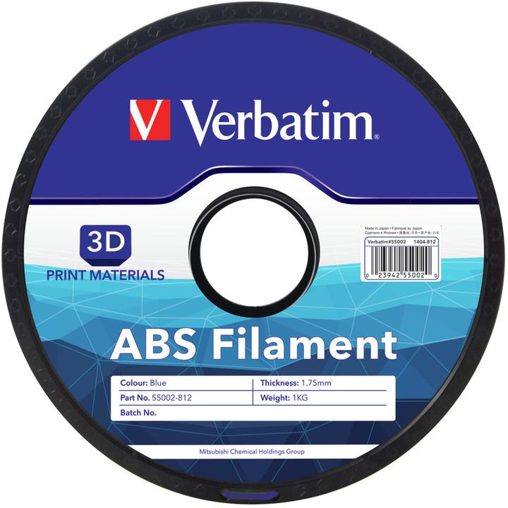 Verbatim tisková struna ABS, modrá, 1,75mm, 1kg