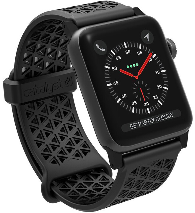 Catalyst Sport Band, black - Apple Watch 42mm