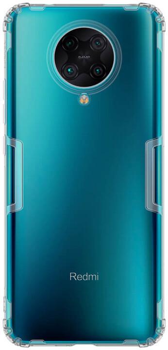 Nillkin pouzdro Nature TPU pro Xiaomi Poco F2 Pro, šedá