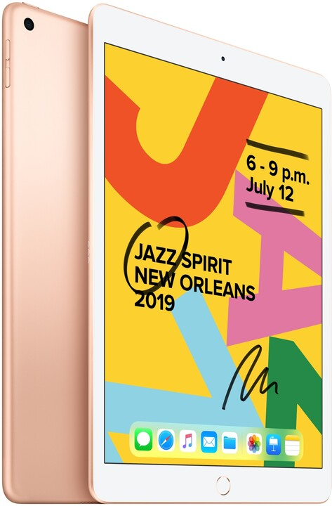 """Apple iPad 2019, 10.2"""" Wi-Fi 32GB, Gold"""