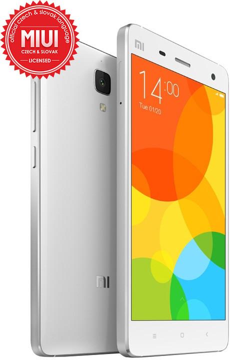 Xiaomi Mi4 - 16GB, LTE, bílá