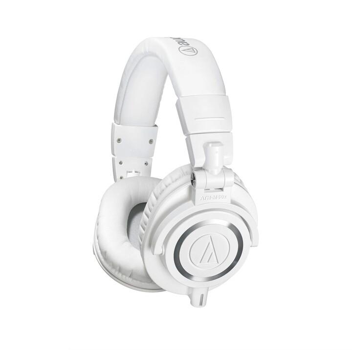 Audio-Technica ATH-M50x, bílá
