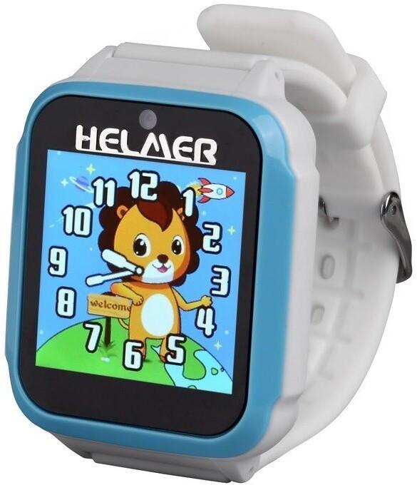 HELMER dětské hodinky KW 801, modro-bílé
