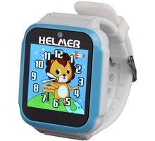 HELMER dětské hodinky KW 801, modro-bílé - HODHEL1000