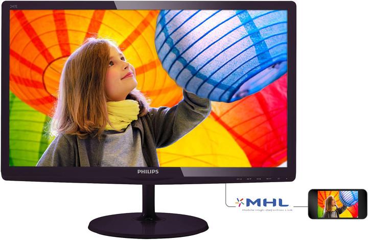 "Philips 247E6LDAD - LED monitor 24"""