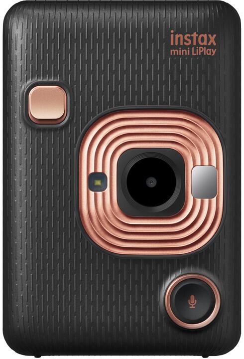 Fujifilm Instax MINI LIPLAY EX D, černá