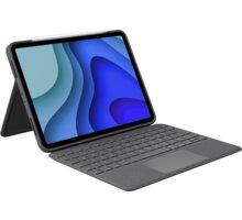"""Logitech ochranný kryt s klávesnicí Folio Touch pro Apple iPad Pro 11"""" (1., 2., 3. generace), UK, še"""