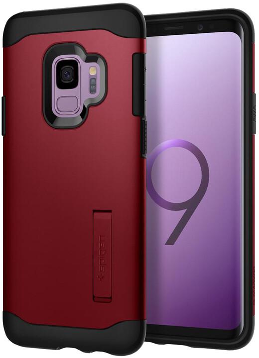 Spigen Slim Armor pro Samsung Galaxy S9, merlot red