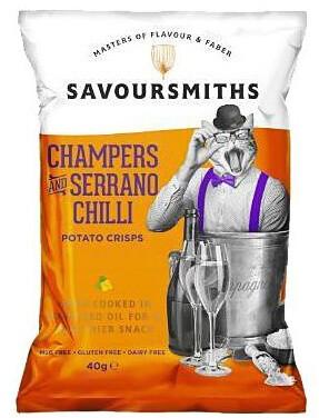 Savoursmiths Bubbly & Serrano Chilli 40 g