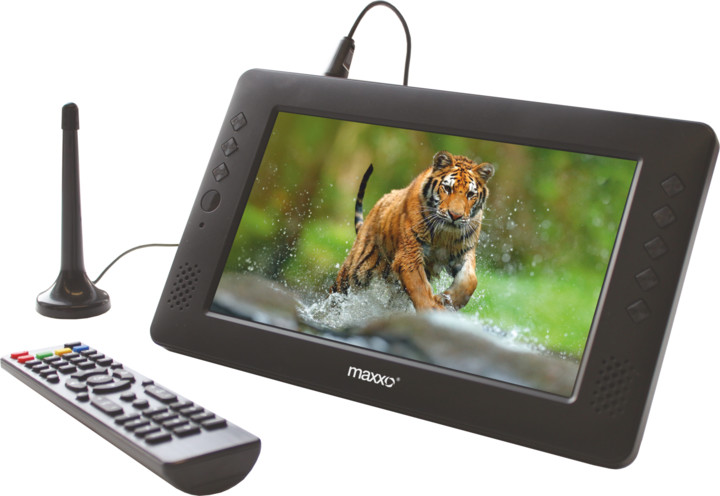 Maxxo mini TV HD-T2 HEVC/H.265 - 23cm