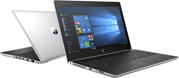 HP ProBook 450 G5, stříbrná