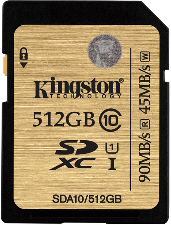 Kingston SDXC Ultimate 512GB Class 10 UHS-I