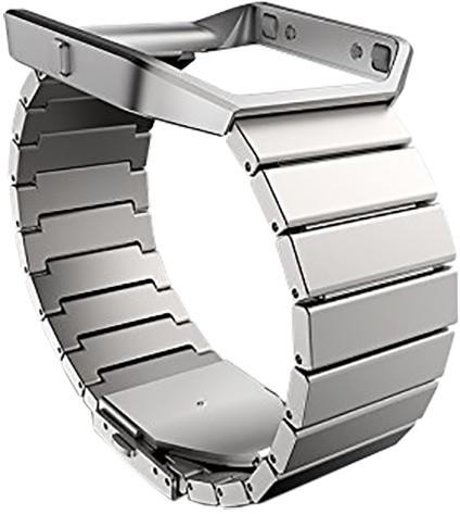 Fitbit Blaze řemínek, metal link, standard, stříbrná
