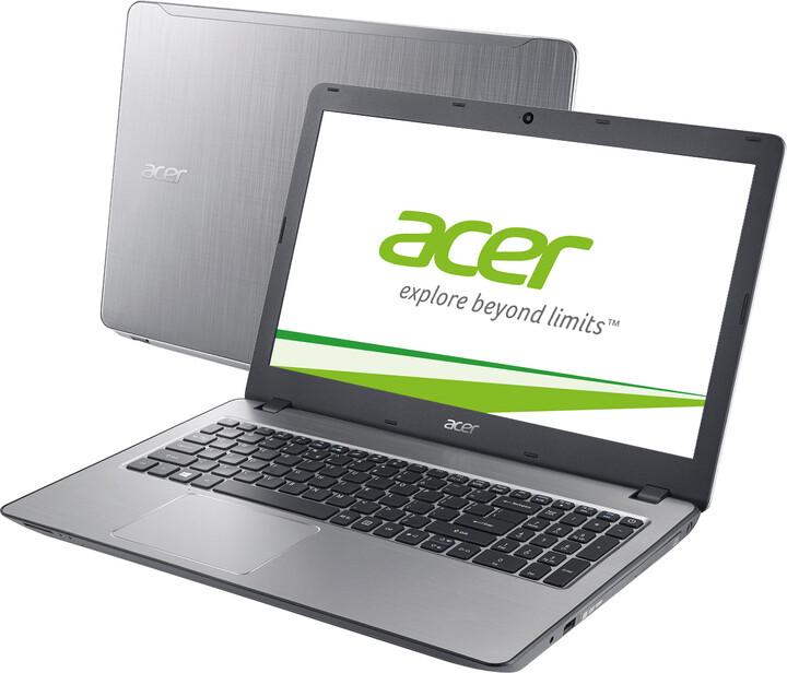 Acer Aspire F15 (F5-573G-77J6), stříbrná
