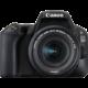Canon EOS 200D + 18-55mm IS STM, černá  + Fotobrašna Canon SB100 (v ceně 689 Kč) + Získejte zpět až 7 500 Kč