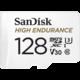 SanDisk Micro SDXC High Endurance 128GB 100MB/s UHS-I U3 + SD adaptér