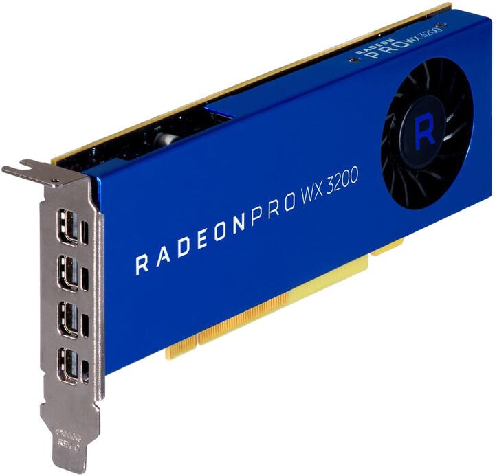HP Radeon PRO WX 3200, 4GB GDDR5