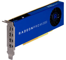 HP Radeon PRO WX 3200, 4GB GDDR5 - 6YT68AA