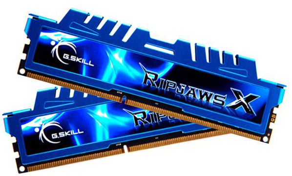G.SKill RipjawsX 16GB (2x8GB) DDR3 1600 CL9