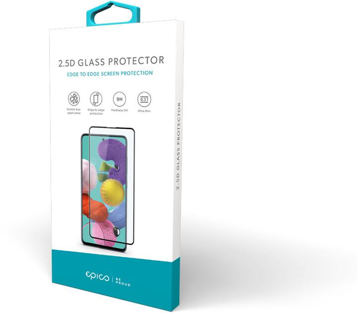EPICO tvrzené sklo pro Motorola Moto G100, 2.5D, černá