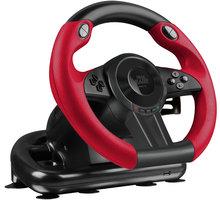Speedlink Trailblazer, černý/červený (PS4, PS3, PC) - SL-450500-BK
