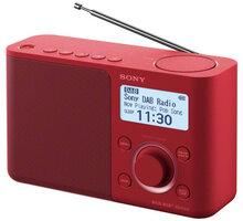 Sony XDR-S61D, červená