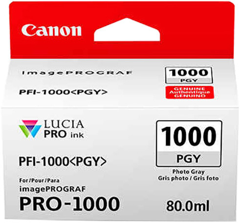 Canon PFI-1000PGY, photo grey