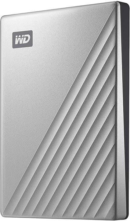 WD My Passport Ultra - 4TB, stříbrná