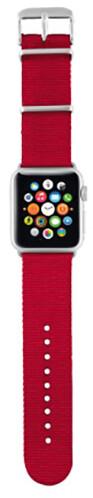 Trust náramek pro Apple Watch 38mm, červená