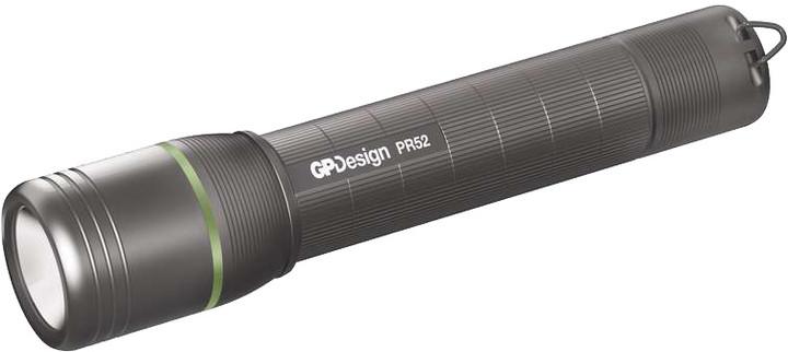 GP LED nabíjecí svítilna PR52, 5 W CREE