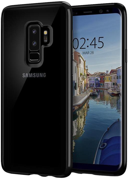 Spigen Ultra Hybrid pro Samsung Galaxy S9+, midnight black