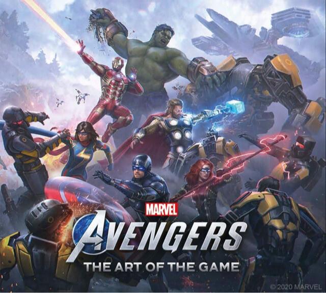 Kniha Marvel's Avengers: The Art of the Game (EN)