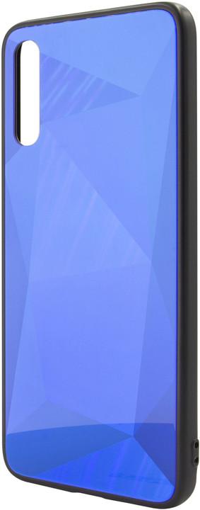 EPICO COLOUR GLASS Case pro Samsung Galaxy A70, modrá