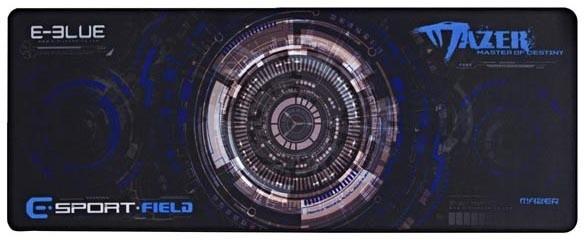 E-Blue Gaming XL, herní, látková, černo-modrá