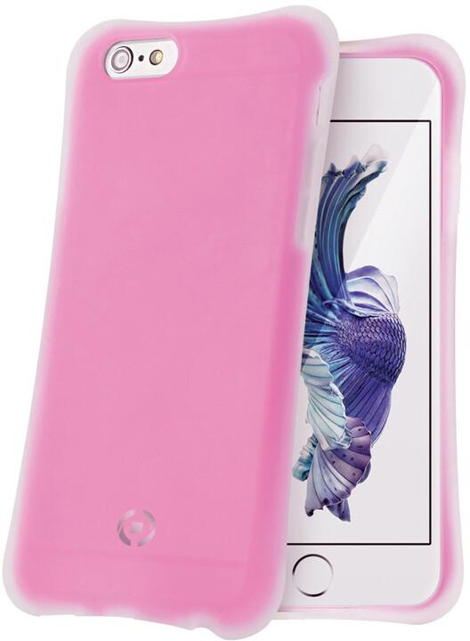 CELLY ICECUBE zadní kryt pro Apple iPhone 6S Plus, fuchsiový