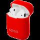 EPICO Airpods pouzdro, červená