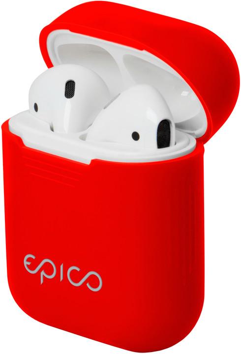 EPICO AIRPODS CASE, červená