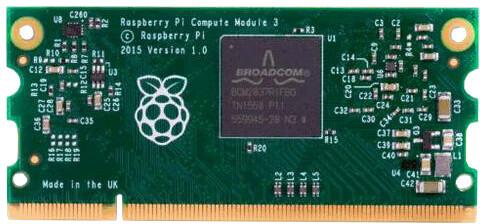 Raspberry Pi Compute module 3, výpočetní modul