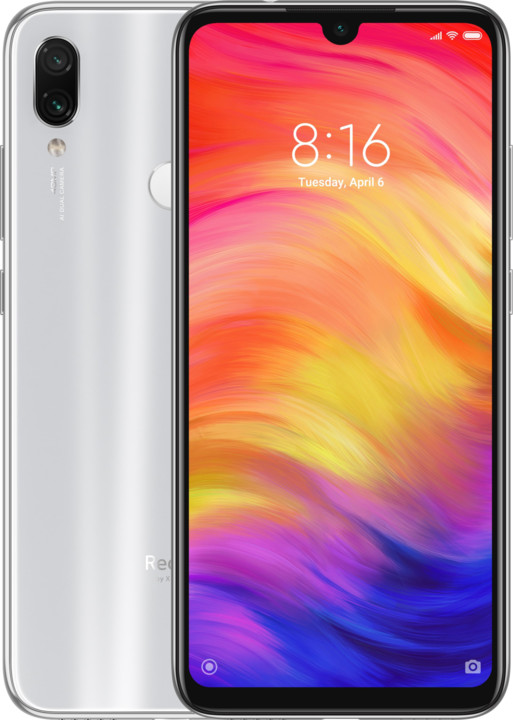 Xiaomi Redmi Note 7, 4GB/128GB, bílá