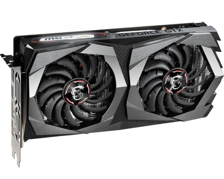 MSI GeForce GTX 1650 D6 GAMING X, 4GB GDDR6