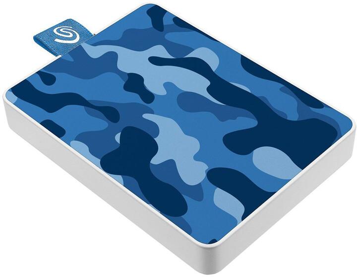 Seagate One Touch SE - 500GB, modrá