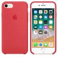 Apple silikonový kryt na iPhone 8 / 7, malinově červená